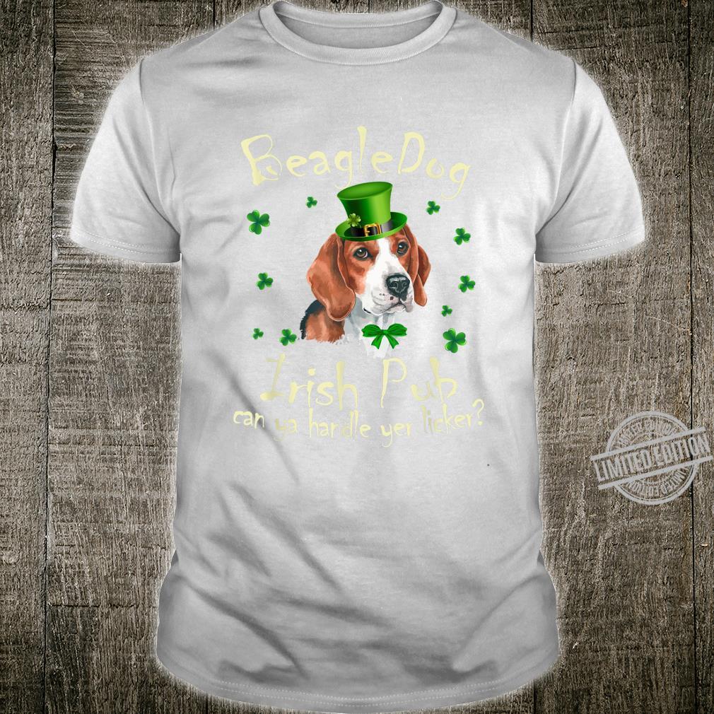 Funny Irish Pub Beagle Mother Mom Dad Dog Beagle Shirt