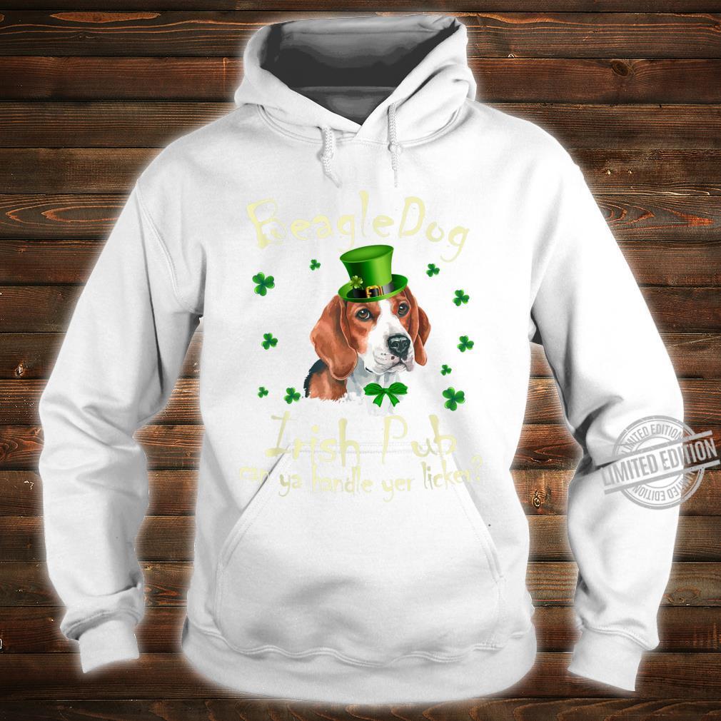 Funny Irish Pub Beagle Mother Mom Dad Dog Beagle Shirt hoodie