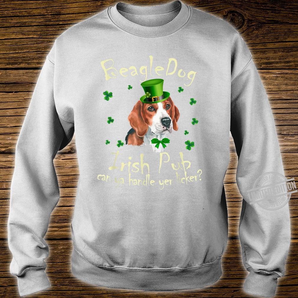 Funny Irish Pub Beagle Mother Mom Dad Dog Beagle Shirt sweater