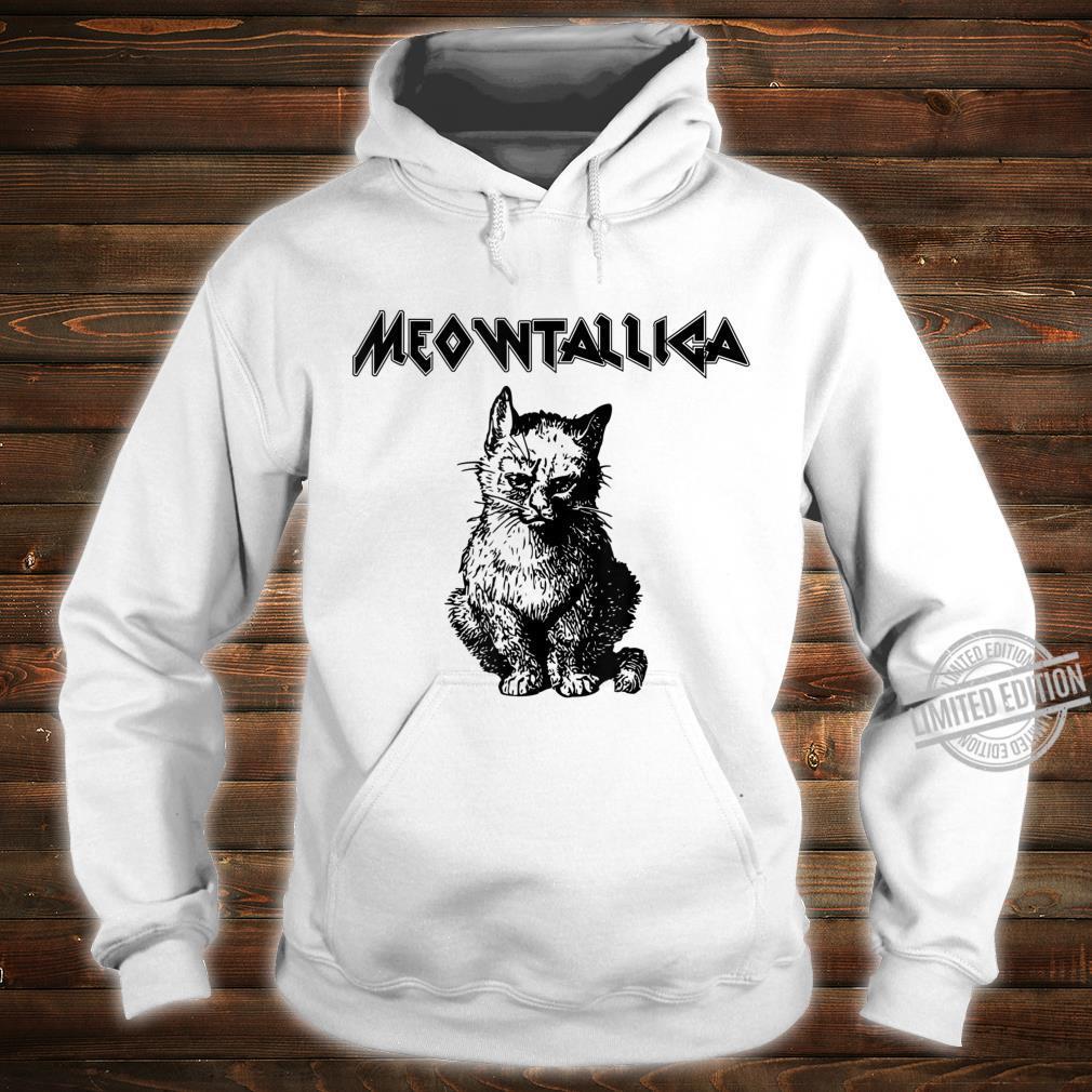 Funny Meowtallica shirt Kitty Kittens Meow Cute Cat Shirt hoodie