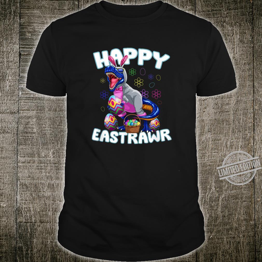 Happy Eastrawr T Rex Dinosaur Bunny Egg Hunt Love Shirt