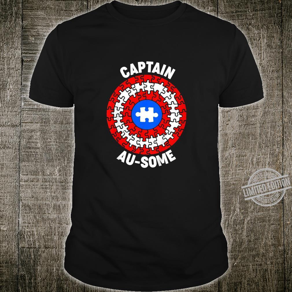 Kids Captain AuSome Member Of Team AuSome Family Uniform Shirt