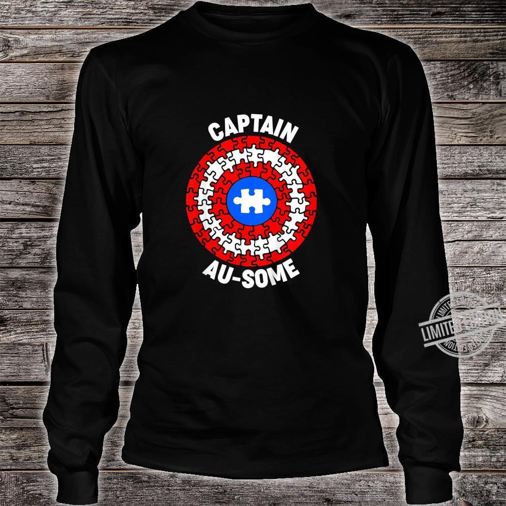 Kids Captain AuSome Member Of Team AuSome Family Uniform Shirt long sleeved