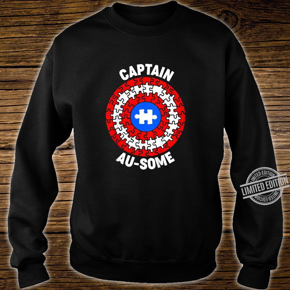 Kids Captain AuSome Member Of Team AuSome Family Uniform Shirt sweater