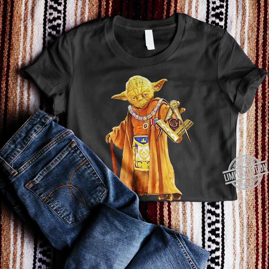 Master Yoda And Mason Shirt