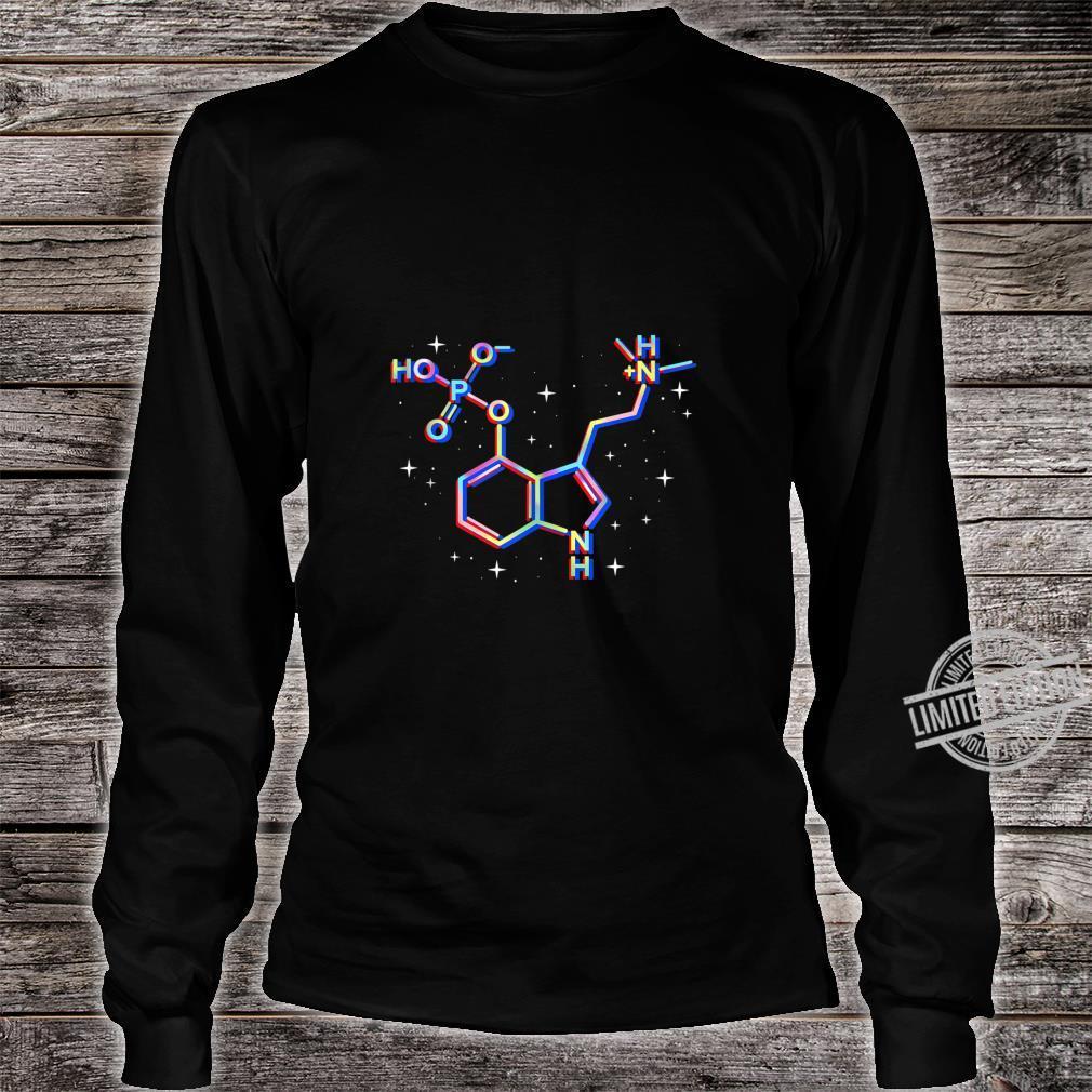Psilocybin Molecule Magic Mushrooms Shirt long sleeved