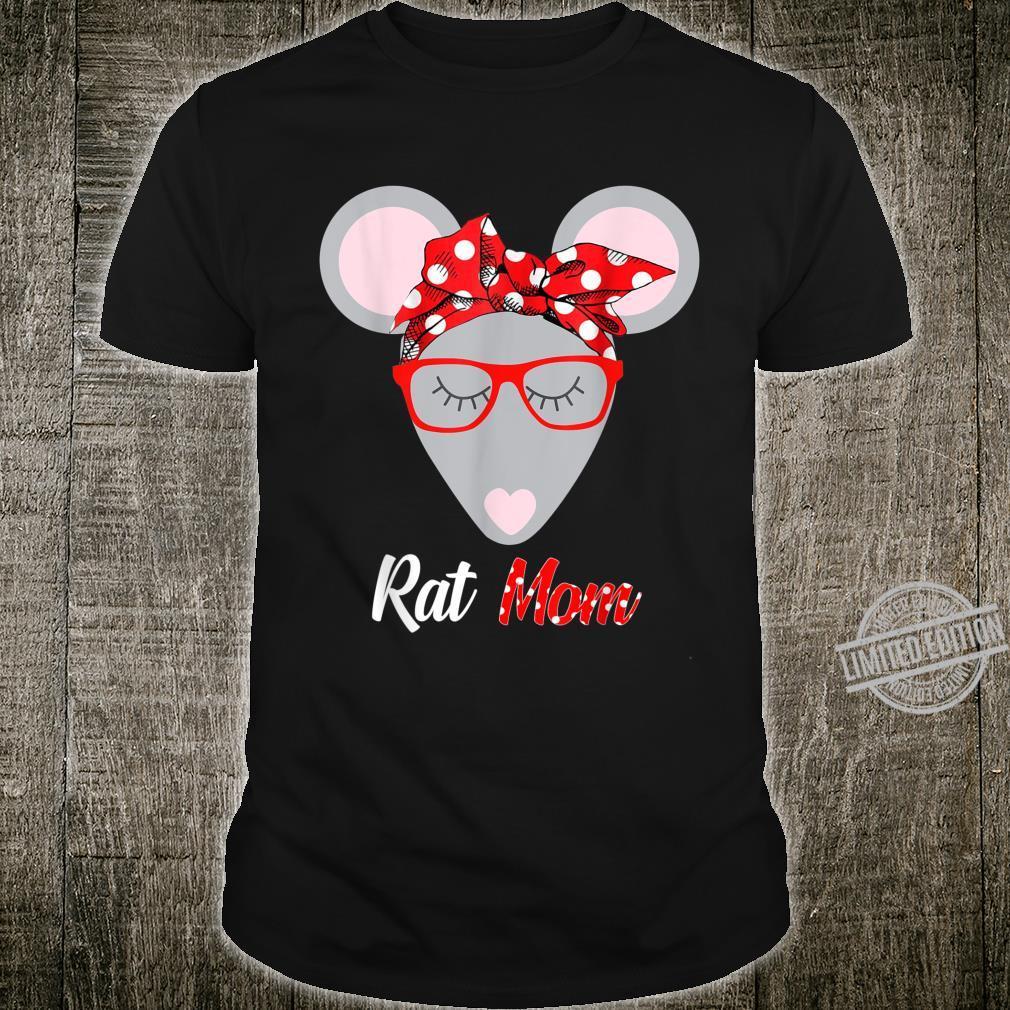 Rat Mom Retro Pet Mouse Rat Or Rodent Shirt